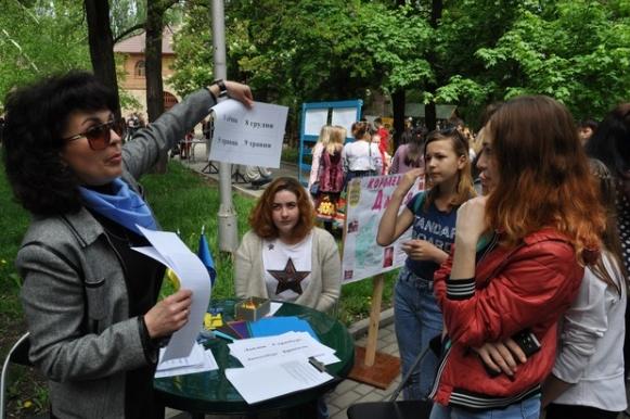 В Бахмуте прошли мероприятия по случаю Дня Европы в Украине (ФОТО), фото-7