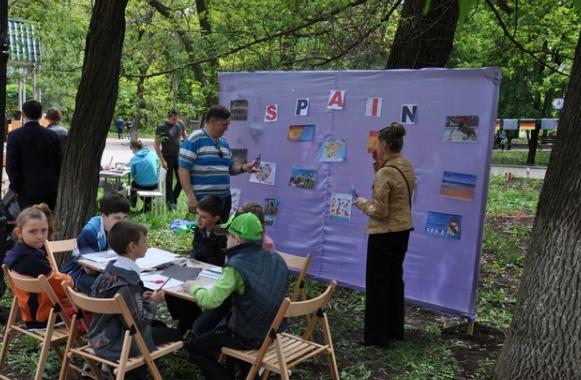 В Бахмуте прошли мероприятия по случаю Дня Европы в Украине (ФОТО), фото-12