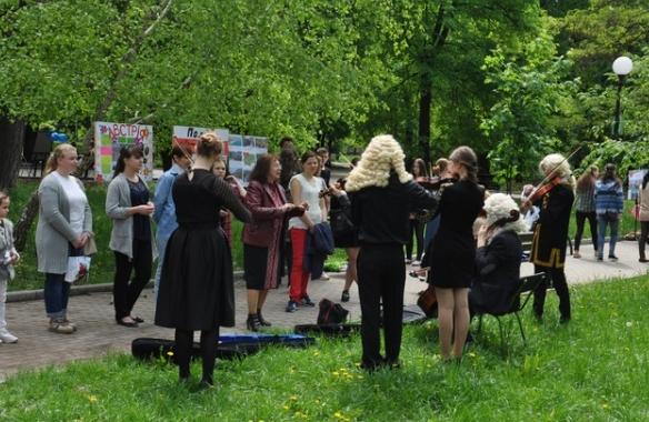 В Бахмуте прошли мероприятия по случаю Дня Европы в Украине (ФОТО), фото-8