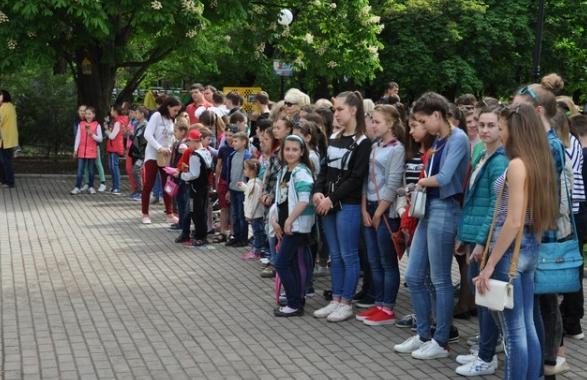 В Бахмуте прошли мероприятия по случаю Дня Европы в Украине (ФОТО), фото-9