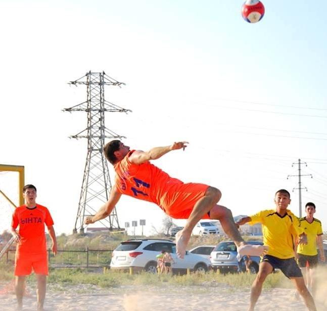 ФОТО пляжный футбол