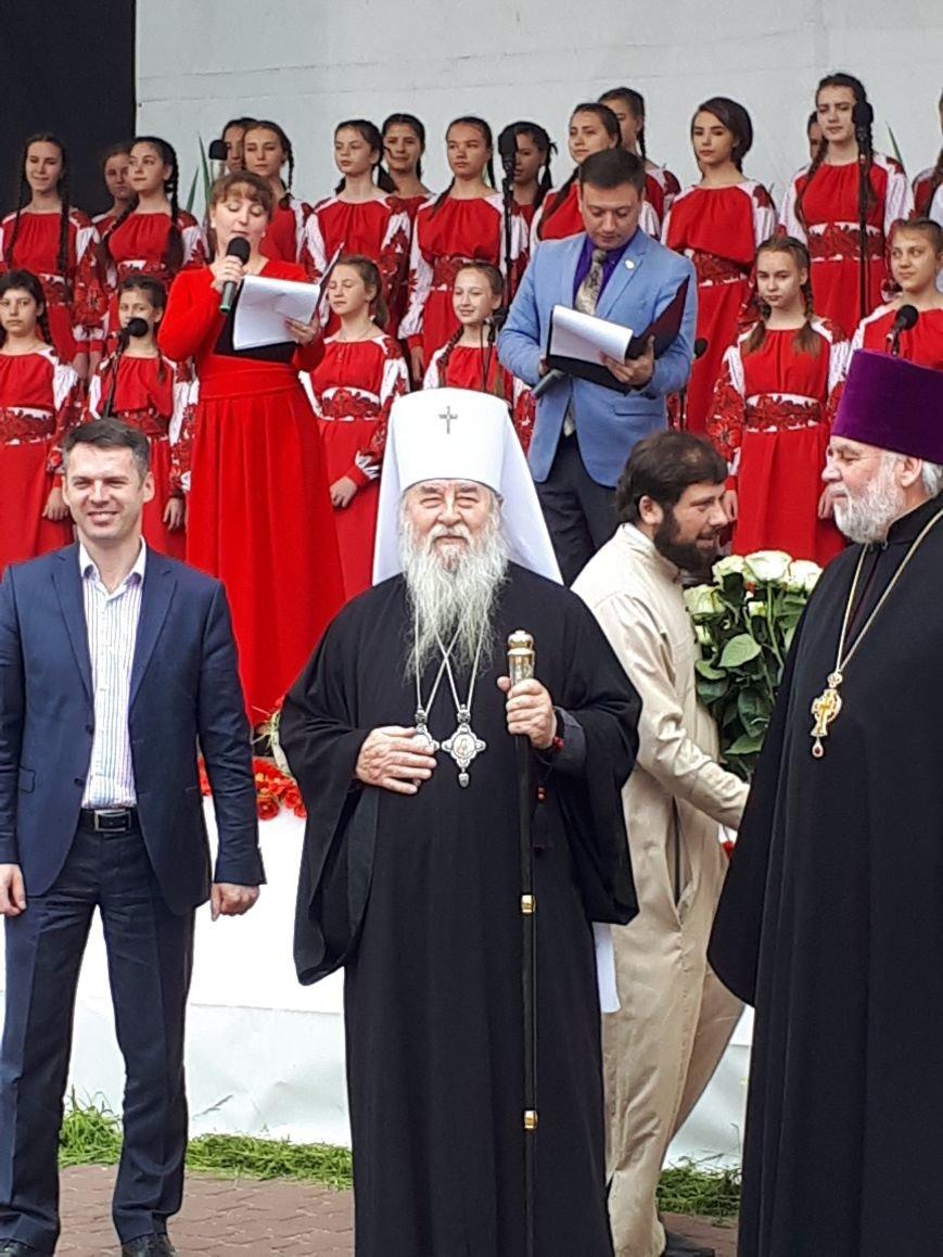 Мелитопольский церковный хор достойно выступил на фестивале, фото-1