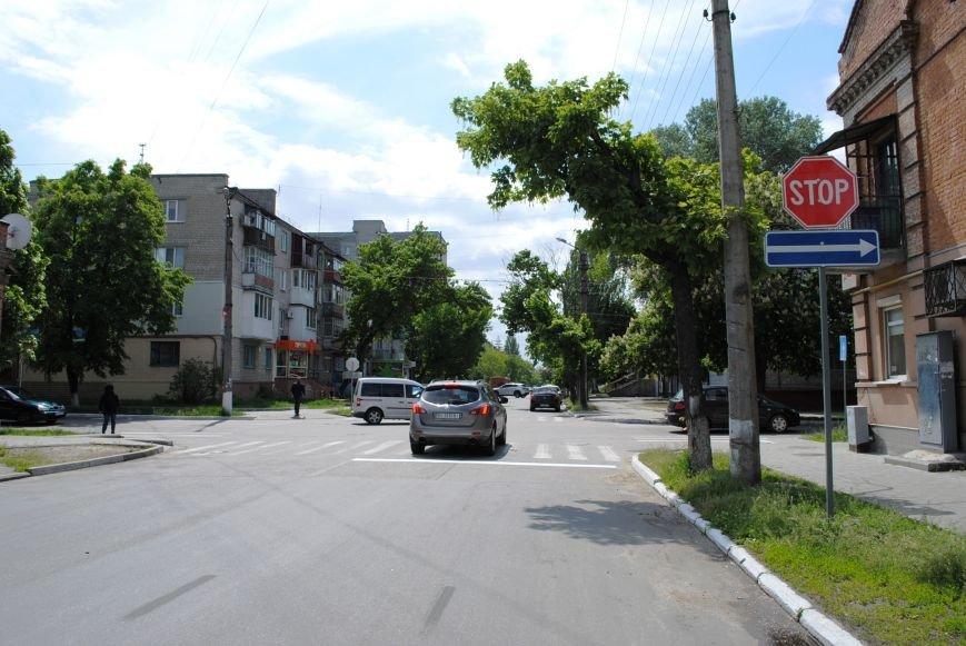 Теперь водители точно знают, кто кому уступает дорогу на перекрёстке улиц Шевченко и Мазепы (ФОТО), фото-4