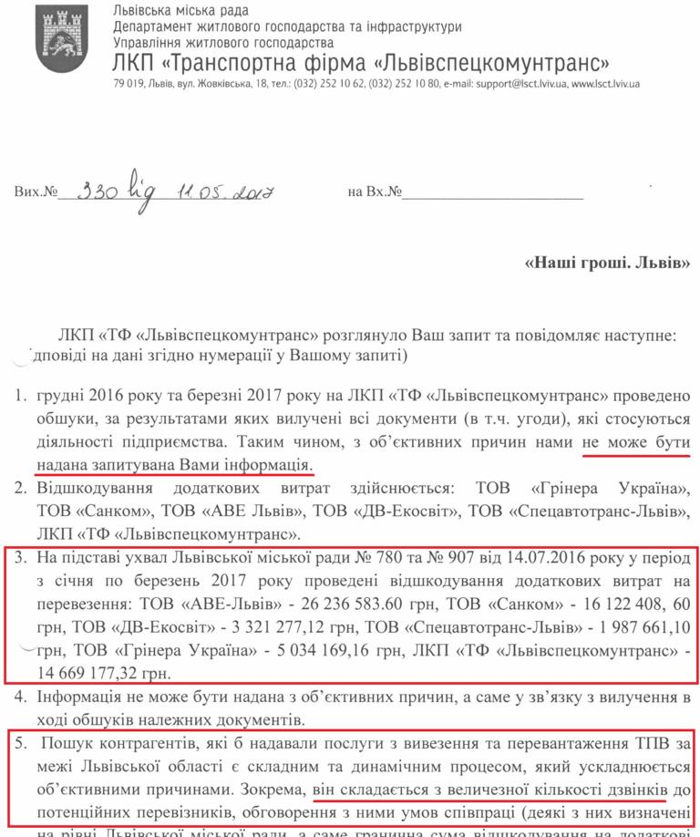 Частину коштів, які виділили на вивезення сміття зі Львова, отримували фіктивні компанії, фото-1