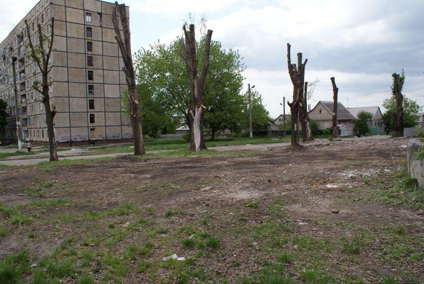 В Каменском на поселке Строителей будет зона отдыха, фото-2