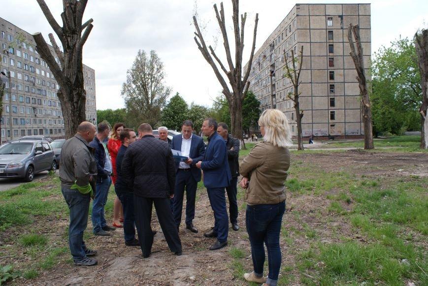 В Каменском на поселке Строителей будет зона отдыха, фото-1