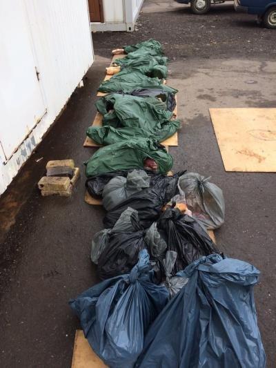 В Бахмутском районе водитель Mercedes-Benz пытался в тайнике провезти более 600 кг свинины, фото-1