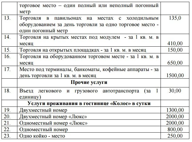 тарифы1