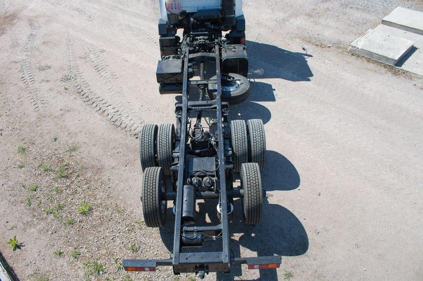 На КрАЗе создано новое шасси с задней третьей подъёмной осью (ФОТО), фото-4
