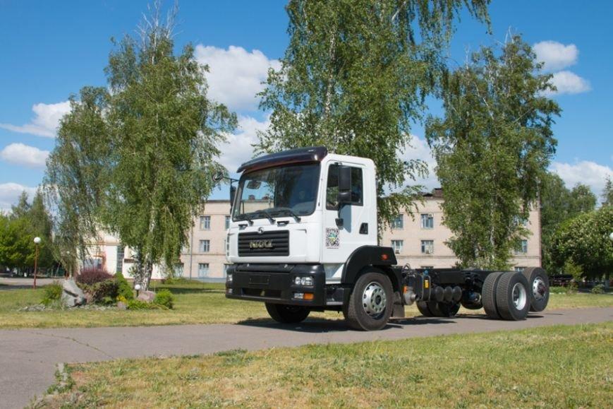 На КрАЗе создано новое шасси с задней третьей подъёмной осью (ФОТО), фото-7