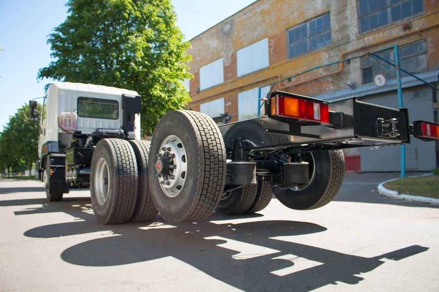 На КрАЗе создано новое шасси с задней третьей подъёмной осью (ФОТО), фото-5
