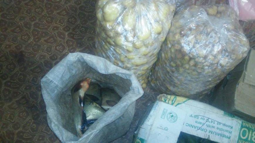 В Каменском полицейские изъяли продукты со стихийного рынка на Мурахтова, фото-2