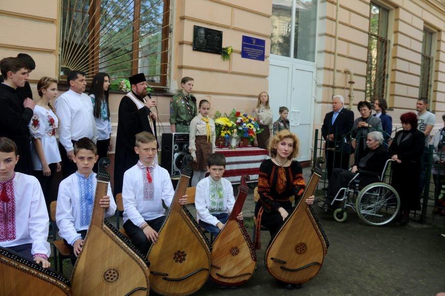 У Львові відкрили меморіальну дошку в пам'ять про загиблого в зоні АТО львів'янина: фоторепортаж, фото-9