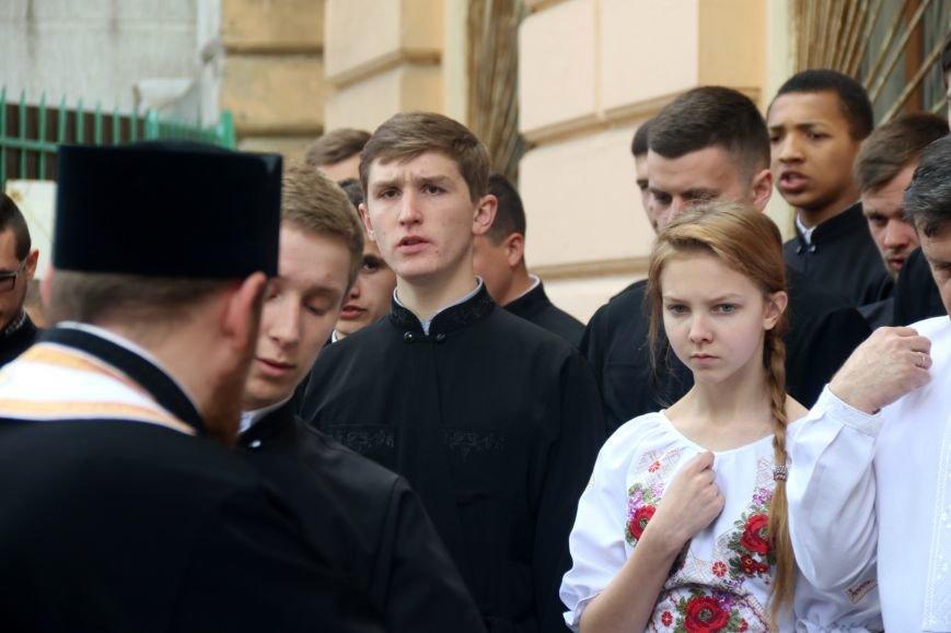 У Львові відкрили меморіальну дошку в пам'ять про загиблого в зоні АТО львів'янина: фоторепортаж, фото-7