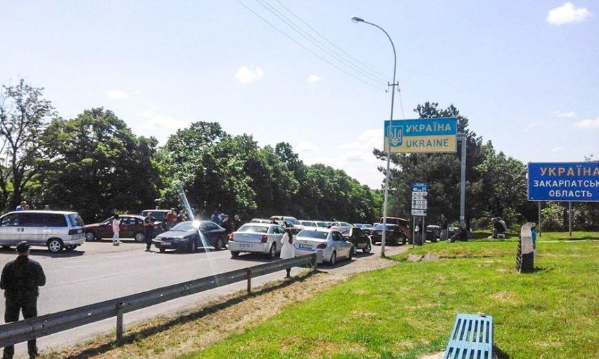 """На пункті пропуску """"Ужгород - Вишнє Нємецьке"""" не пропускатимуть вантажні авто, фото-1"""