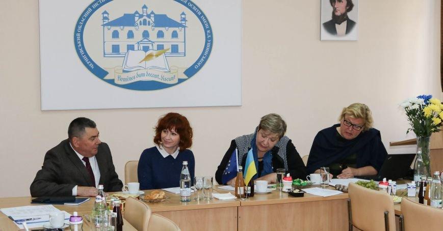 Черниговские педагоги принимали финских экспертов в сфере образования, фото-1