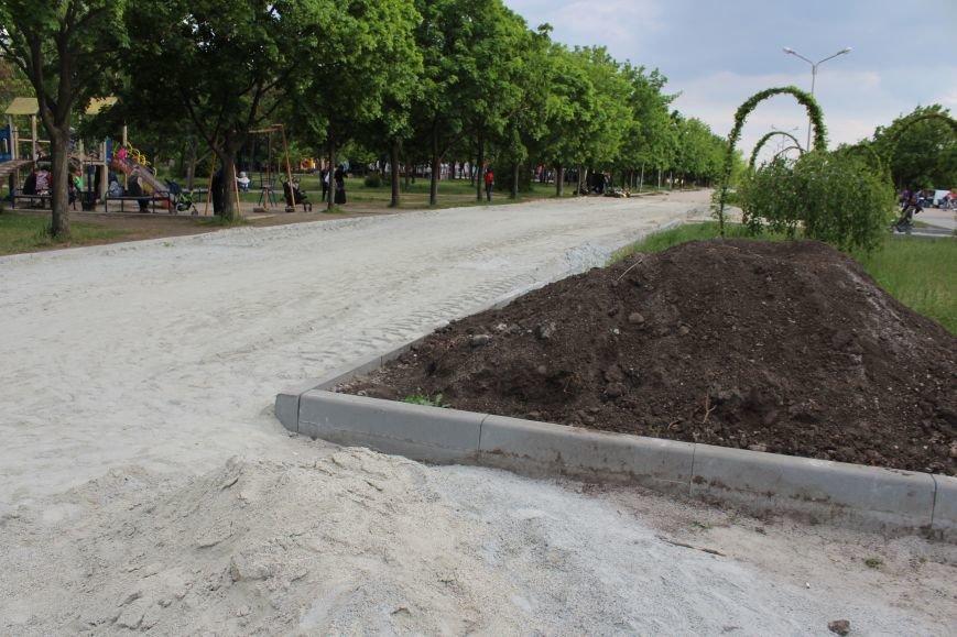 Реконструкция запорожского парка Гагарина началась почти год назад: что сделано, - ФОТО, фото-14