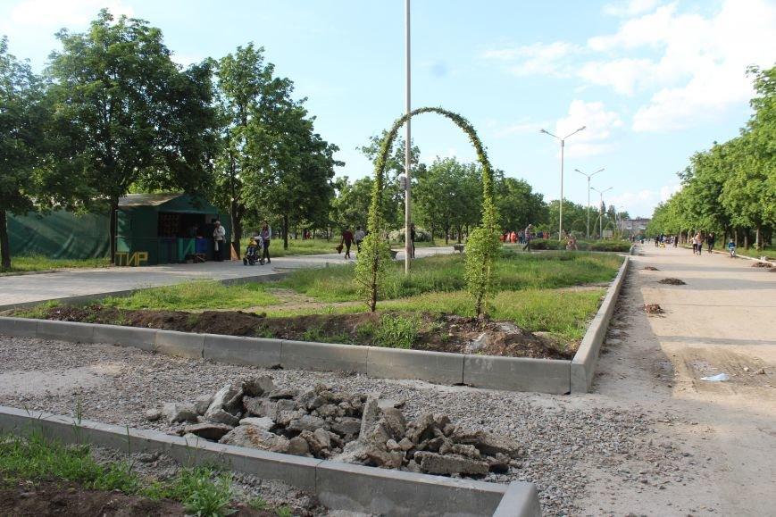 Реконструкция запорожского парка Гагарина началась почти год назад: что сделано, - ФОТО, фото-6