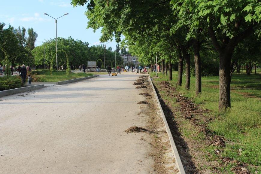 Реконструкция запорожского парка Гагарина началась почти год назад: что сделано, - ФОТО, фото-9