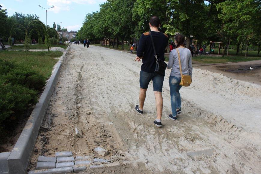 Реконструкция запорожского парка Гагарина началась почти год назад: что сделано, - ФОТО, фото-13