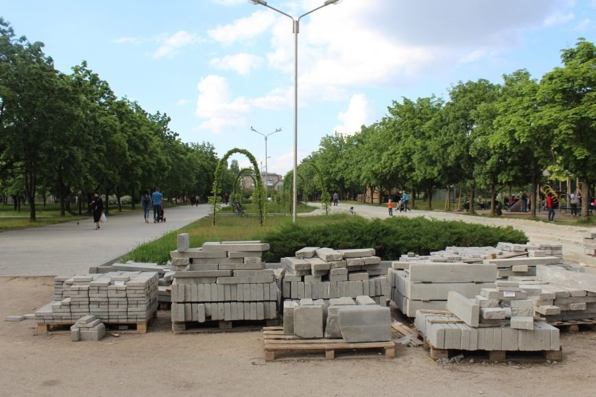 Реконструкция запорожского парка Гагарина началась почти год назад: что сделано, - ФОТО, фото-11