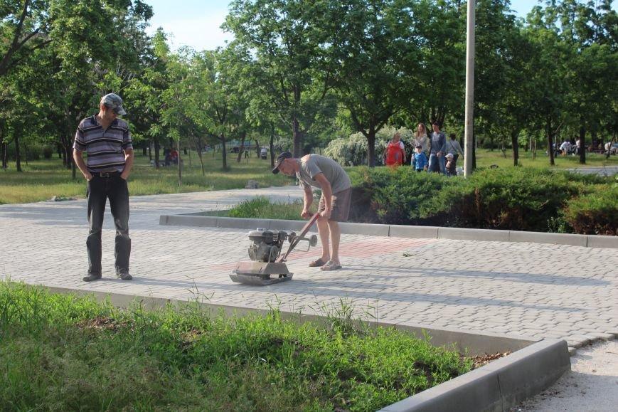 Реконструкция запорожского парка Гагарина началась почти год назад: что сделано, - ФОТО, фото-7