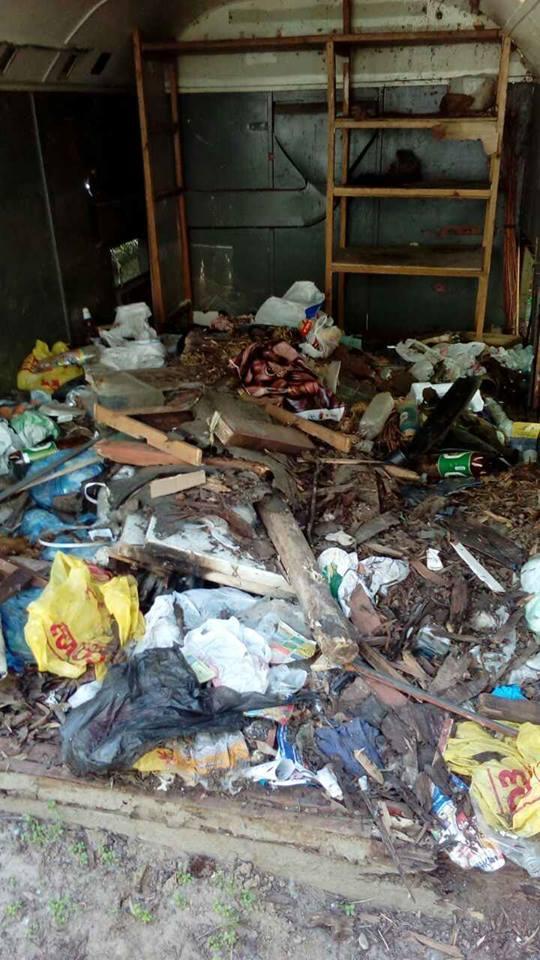 Муниципальная полиция ликвидировала в Чернигове первый незаконный «гараж-сарай», фото-3