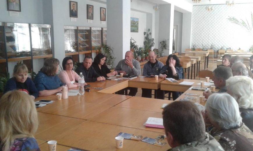 Круглый стол в Никополе: помощь участникам АТО и их семьям, фото-2