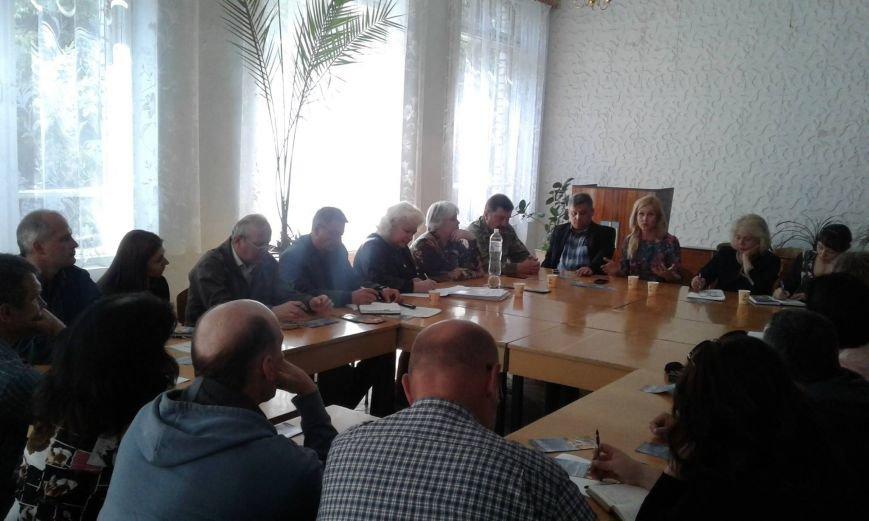 Круглый стол в Никополе: помощь участникам АТО и их семьям, фото-1