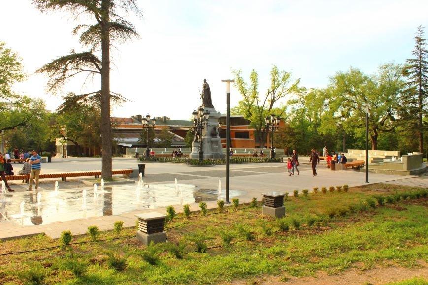 В Екатерининском саду Симферополя появятся клумбы с розами и кусты можжевельника (ФОТО), фото-1