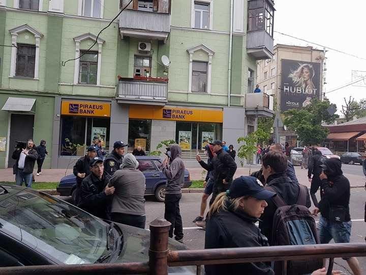 В Харькове активисты разогнали флешмоб ЛГБТ-сообщества (ФОТО), фото-4