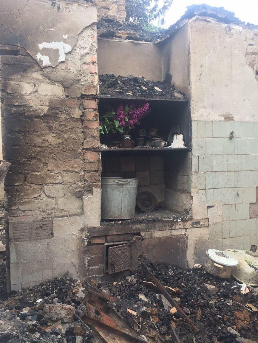 В Водяном после обстрела уничтожен дом супругов-пенсионеров, фото-1