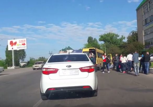 Новомосковск 0569 авария 1