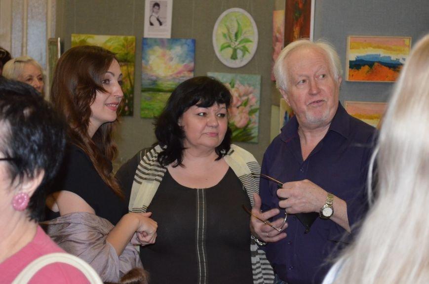 В Мелитополе состоялось открытие художественной выставки «Дыхание весны», фото-3