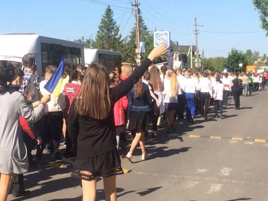 """""""Це модно!"""" Более 1000 юных мариупольцев вышли на парад в вышиванках (ФОТО, ВИДЕО), фото-4"""