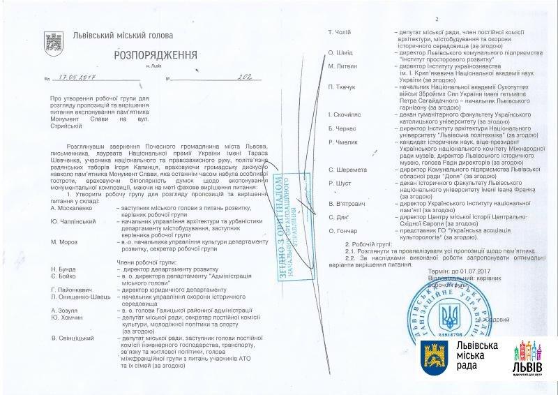 У Львові створили робочу групу, яка вирішить, чи варто зносити Монумент Слави на Стрийській, фото-1