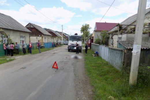 На Хустщині сталась смертельна ДТП - вантажівка переїхала пенсіонера: фото, фото-2