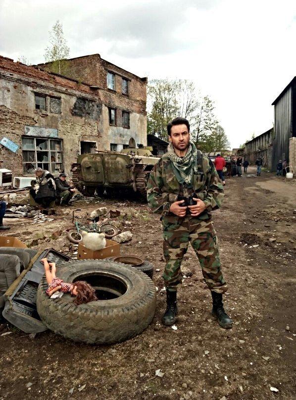 Новополочанин снялся в российском сериале «Мухтар. Новый след», а для новой роли учил текст на арабском, фото-3