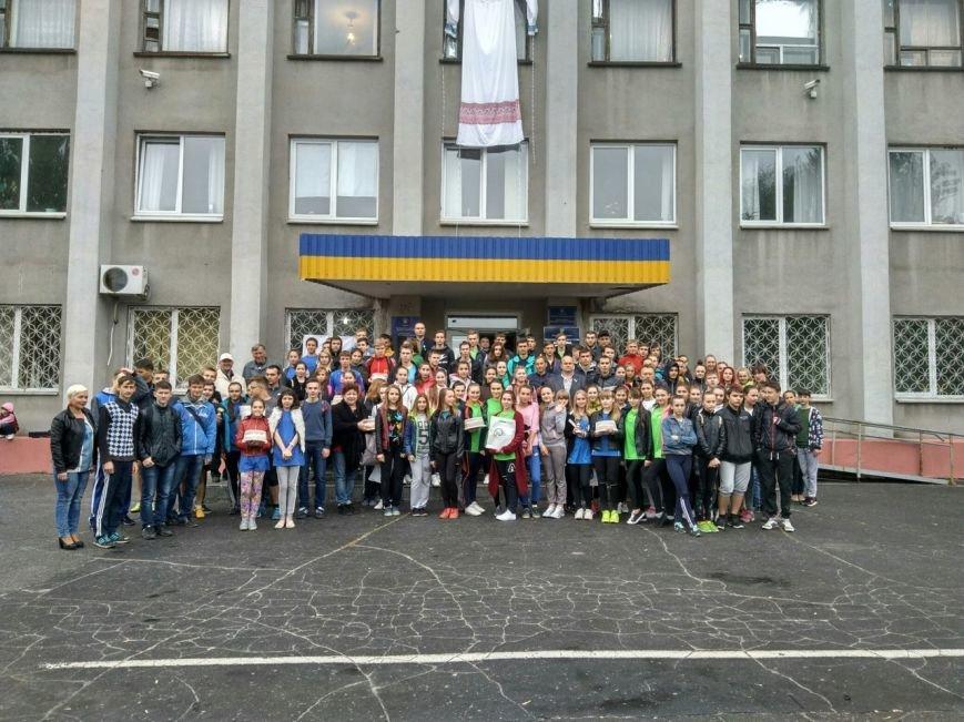 В Покровске состоялся легкоатлетический забег, приуроченный ко Дню Европы и Олимпийскому дню, фото-23