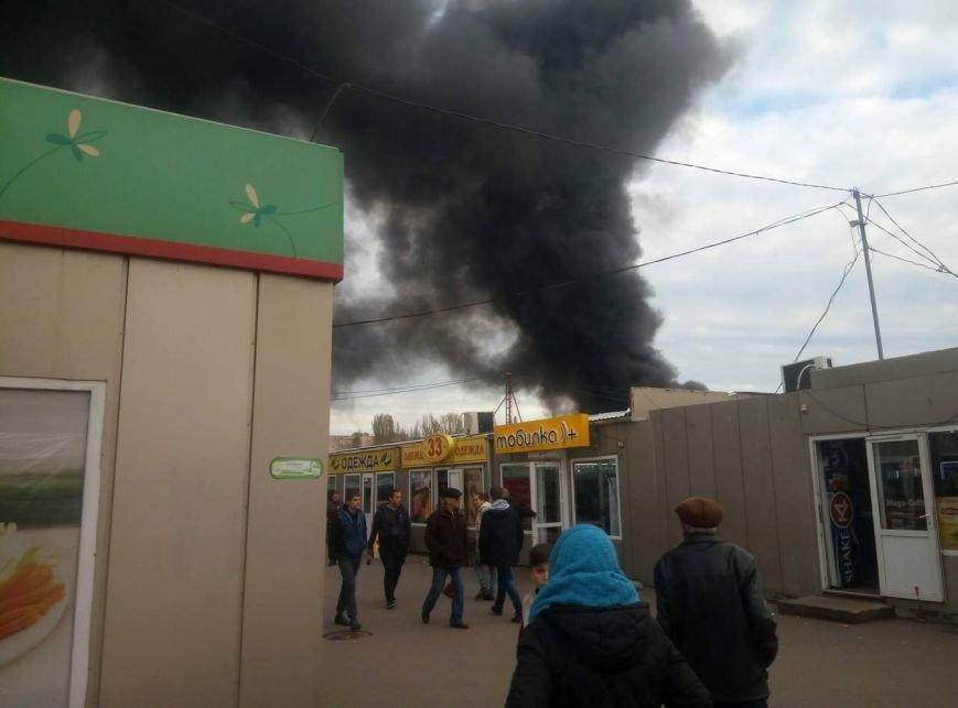 Опять 25: В Одессе горел рынок «Северный» (ФОТОФАКТ), фото-1