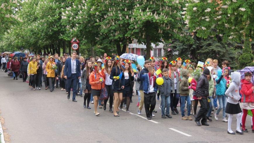 Марш вышиванок в Покровске: дождь шествию не помеха, фото-1