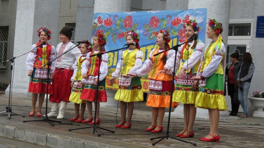 Марш вышиванок в Покровске: дождь шествию не помеха, фото-5