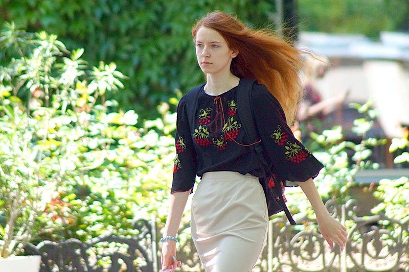 Одесситы необычно нарядились в честь Дня вышиванок (ФОТО), фото-10
