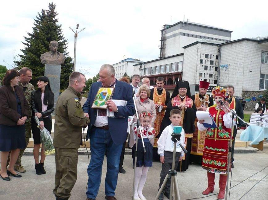 В Марьинке открыли памятник Великому Кобзарю, фото-1