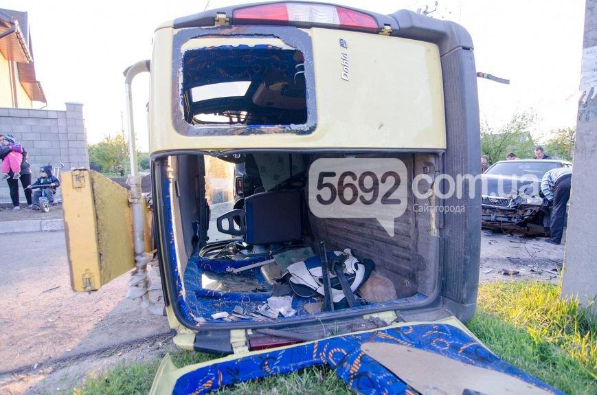 В Каменском вследствие ДТП столкнулись Fiat Doblo и Chery Amulet, фото-5