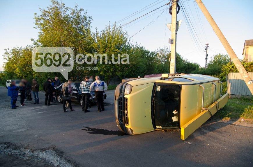 В Каменском вследствие ДТП столкнулись Fiat Doblo и Chery Amulet, фото-4