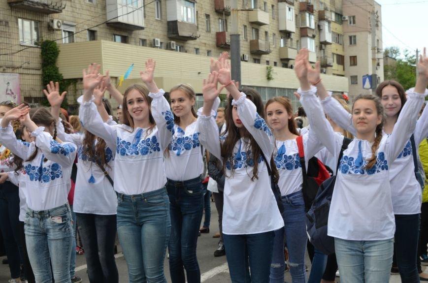 В Мариуполе прошел масштабный парад вышиванок (ФОТОРЕПОРТАЖ+ВИДЕО), фото-12