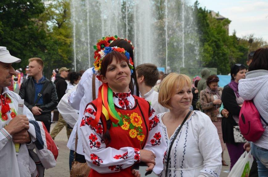 В Мариуполе прошел масштабный парад вышиванок (ФОТОРЕПОРТАЖ+ВИДЕО), фото-54