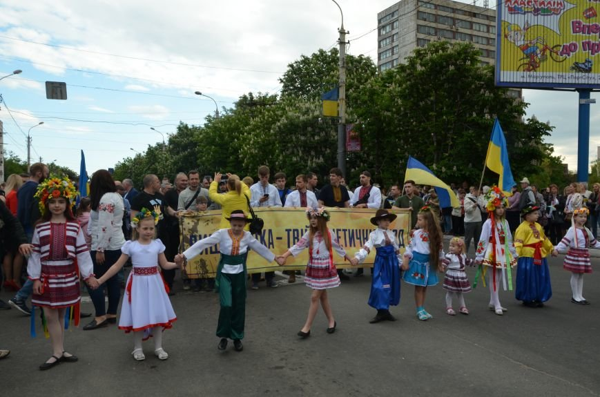 В Мариуполе прошел масштабный парад вышиванок (ФОТОРЕПОРТАЖ+ВИДЕО), фото-17