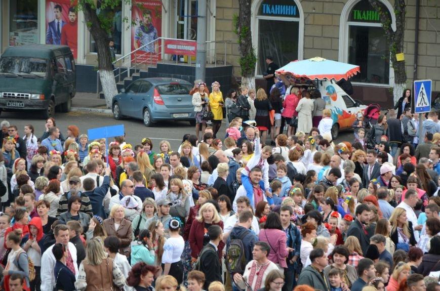 В Мариуполе прошел масштабный парад вышиванок (ФОТОРЕПОРТАЖ+ВИДЕО), фото-31